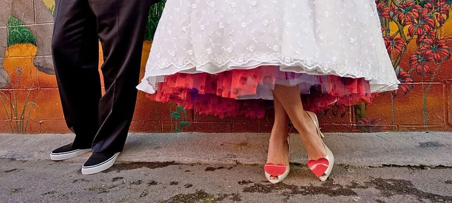 Valentine-themed wedding ideas