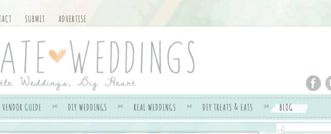 intimate weddings blog banner