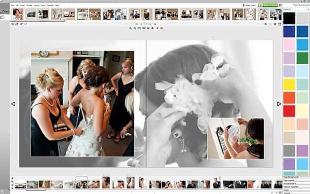 Wedding Album Design Ideas wedding album design ideas indian wedding album Black And White And Color Photos In Your Wedding Album Design