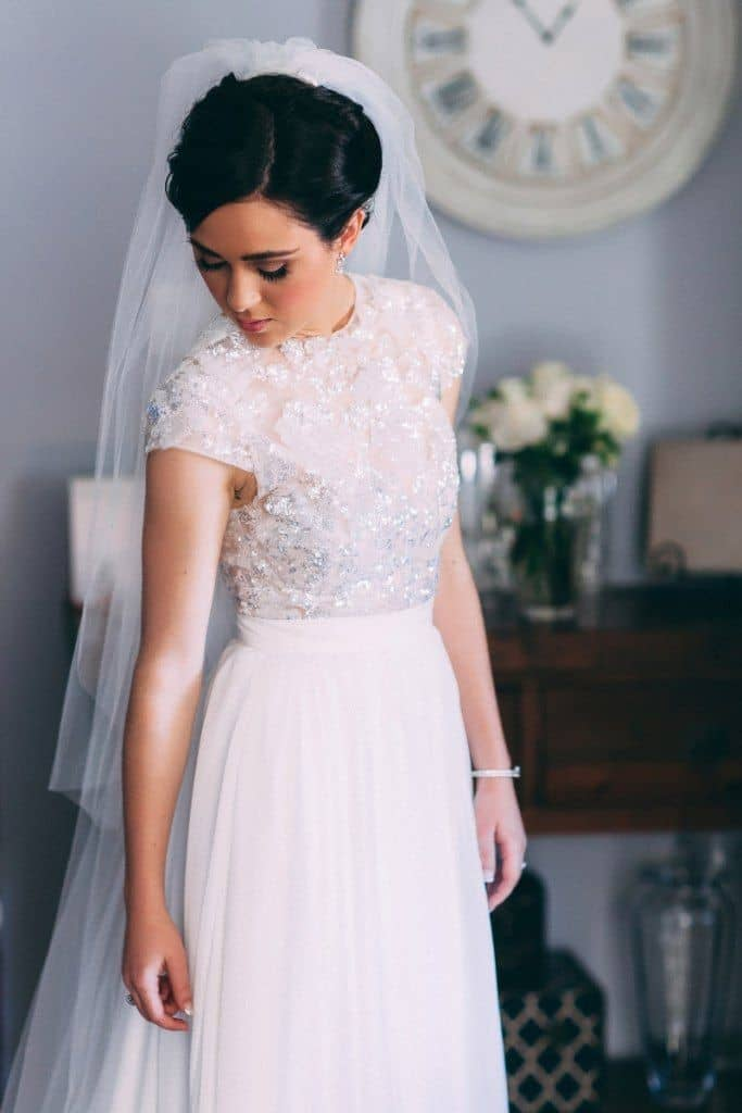 Wedding Dress Trends The Two Piece Knockout