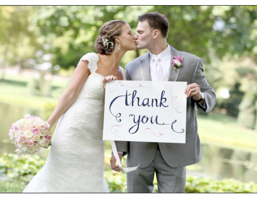 7 Ways to Say Thank You after Your Wedding
